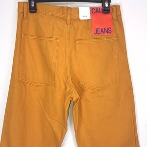 Calvin Klein Mustard Gold Yellow Jeans